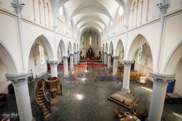 anti christ church belgium urbex
