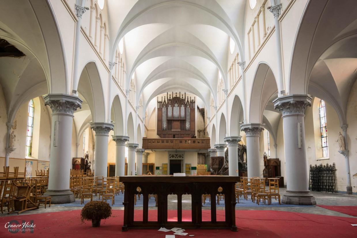 belgium urbex church anti christ