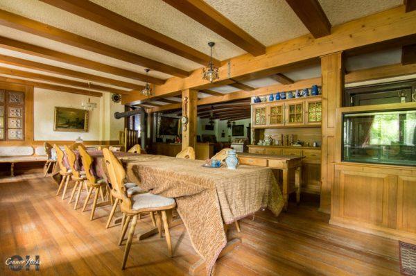 hunters hotel germany urbex restaurant