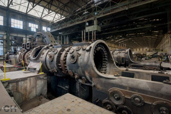 gas engine urbex powerplant x