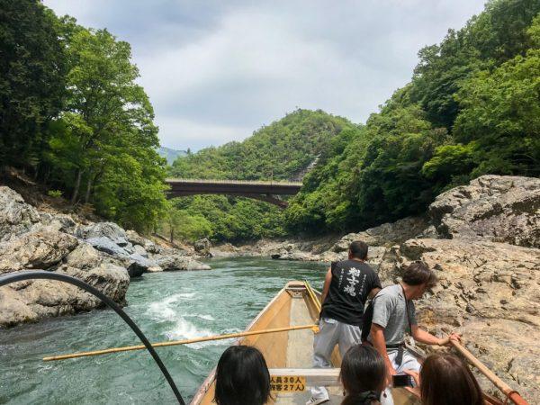 Hozugawa River Cruise Kyoto Japan