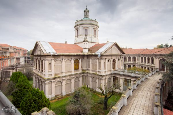 Ospedale Di G italy Urbex external church