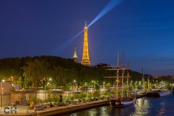 Paris Eiffel Tower Nightscape