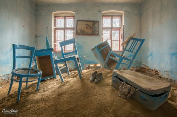 blue sand room urbex