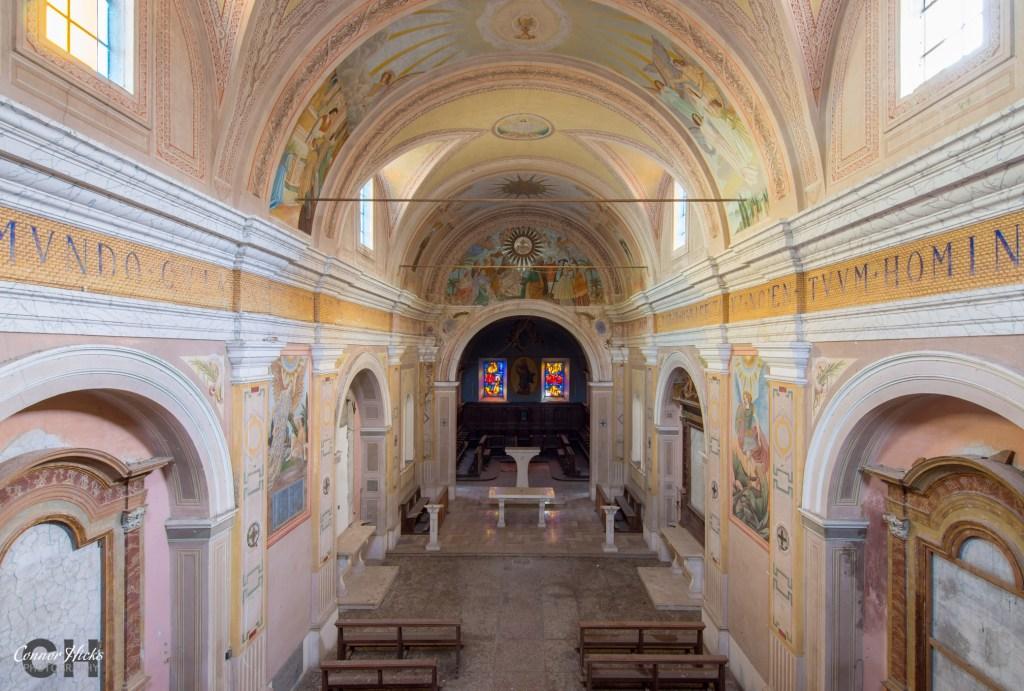 church Monastery SB italy urbex 1024x691 Monastery SB, Italy
