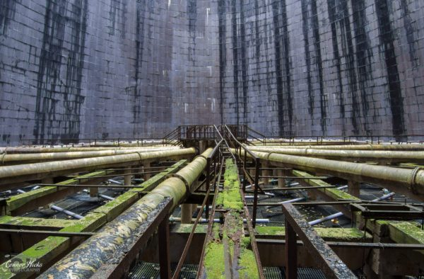 hungary cooling tower urbex