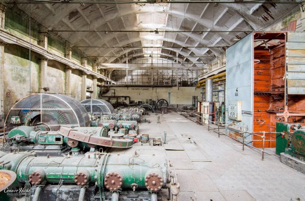power plant v urbex italy 1024x676 Power Plant V, Italy