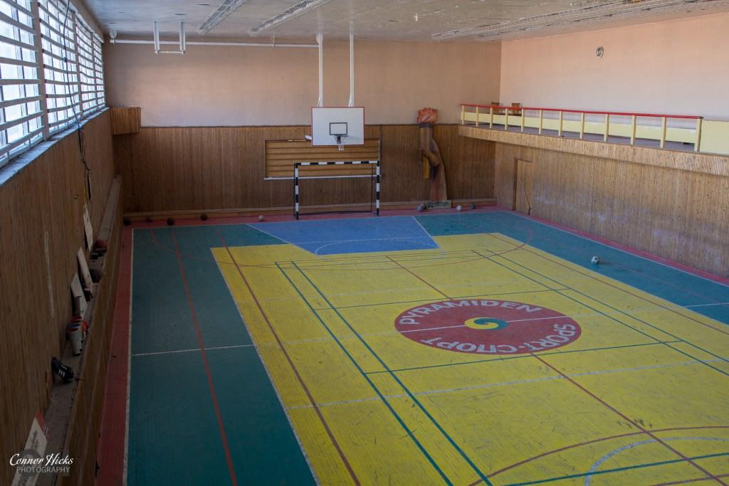 sports hall pyramiden  1024x683 Pyramiden, Svalbard