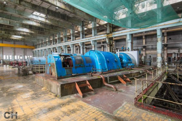 turbine power station urbex