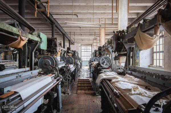 urbex austria cotton mill
