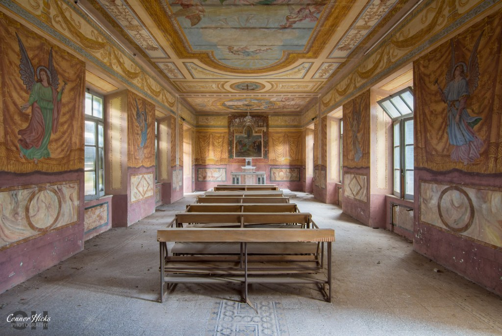 urbex italy chapel Monastery SB 1024x687 Monastery SB, Italy