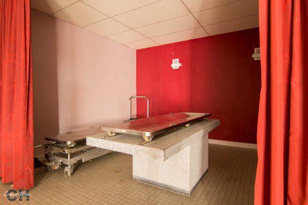 urbex morgue belgium hospital morbid