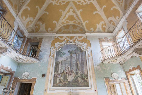 urbex villa italy