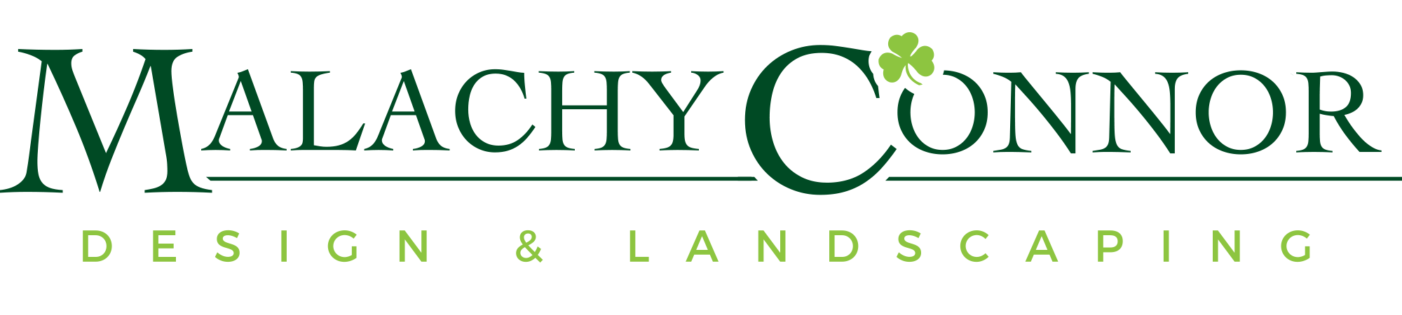 Malachy Connor Design & Landscaping Logo