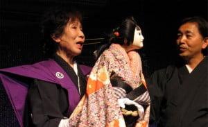 marionetas japonesas, teatro de bunraku