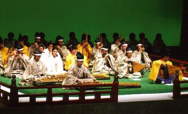 Gagaku, música tradicional japonesa