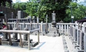 altares de los 47 ronin en Sengakuji