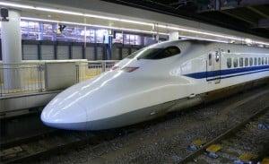 Shinkansen, el tren bala de Japón