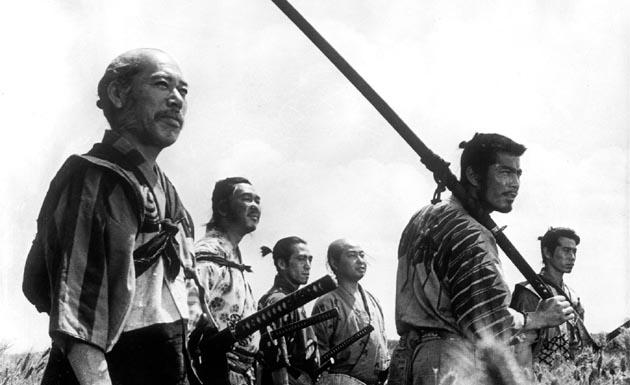 Los siete samuráis de Akira Kurosawa