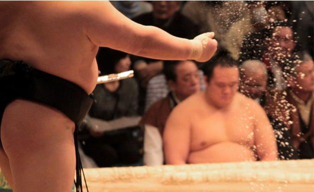 Luchadores de sumo