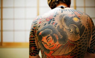 yakuza tatuaje