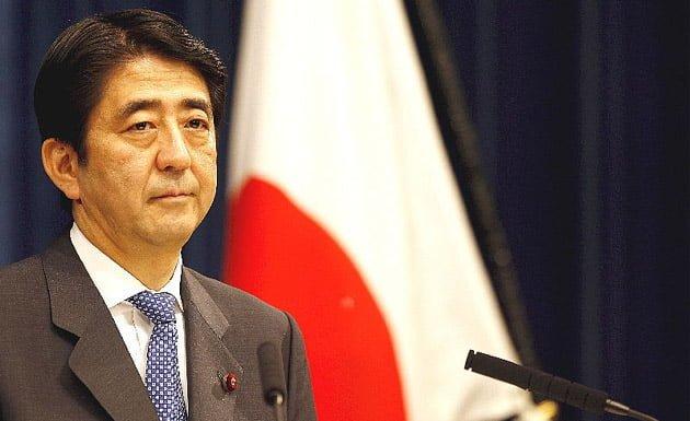 Primer Ministro Shinzo Abe
