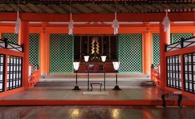 Interior de Itsukushima
