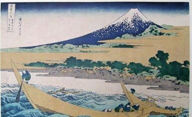 Monte Fuji en pintura 2