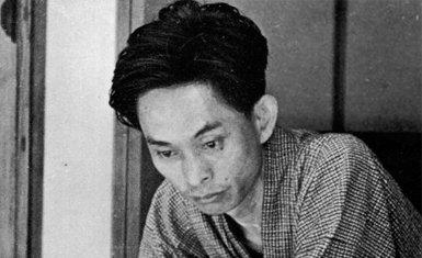 Retrato de Yasunari Kawabata de joven