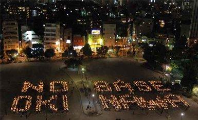 Protestas en Okinawa