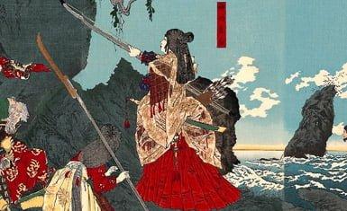 Emperatriz Jingu, una de las mujeres guerreras más famosas