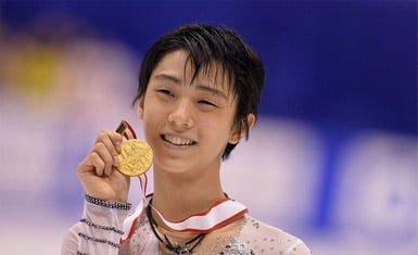 Yuzuru Hanyu medalla de oro