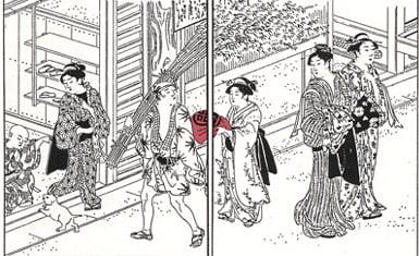 furoshiki periodo Nara