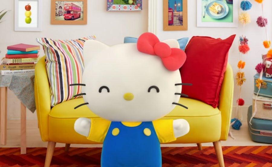 Hello Kitty youtuber