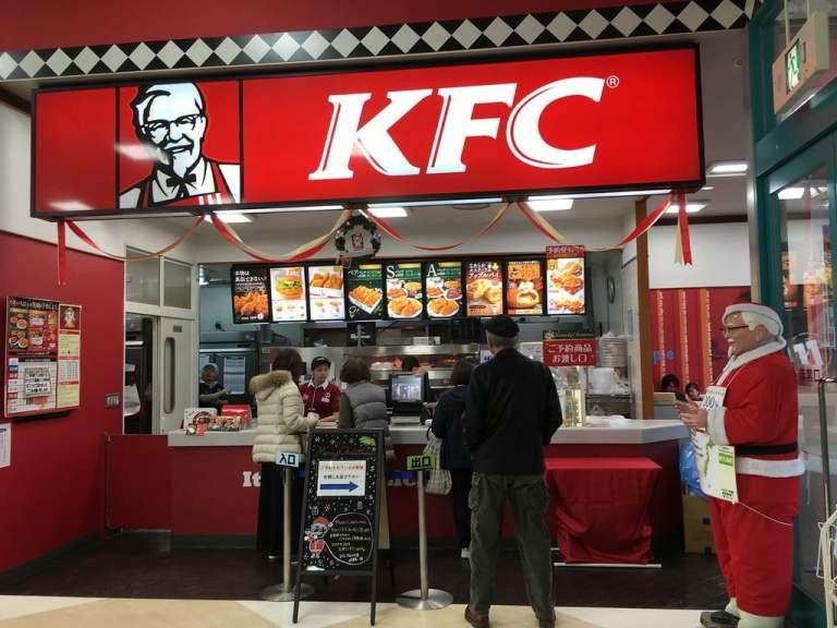Navidad en Japón es sinónimo de KFC