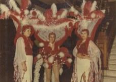 De izquierda a derecha, Fita, loly y Mary Carmen