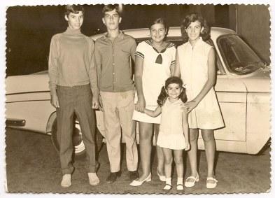 Pedro, Juan Manuel, Mariceli, Pepita, Ruth
