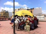 Agrupación Musical de Vecinos Unidos de La Isleta, siempre colaborando en las actividades del barrio...