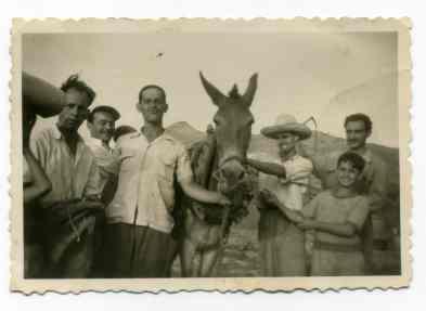 Foto antigua del Confital