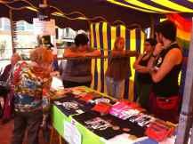 Foto del Mercadillo Solidario en La Avenida de Las Canteras