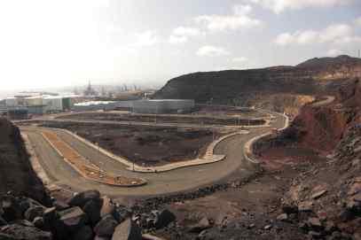 Cantera de la Esfinge 2009, antes de construir los tanques de Oryx