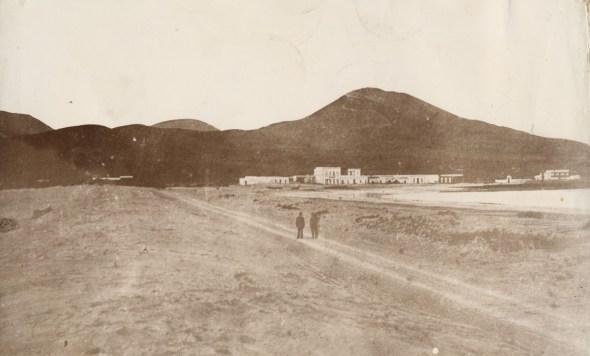 Carretera de Las Palmas al Puerto. Foto Fedac