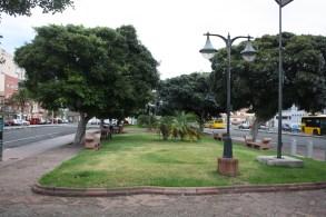 Antigua Plaza de Manuel Becerra