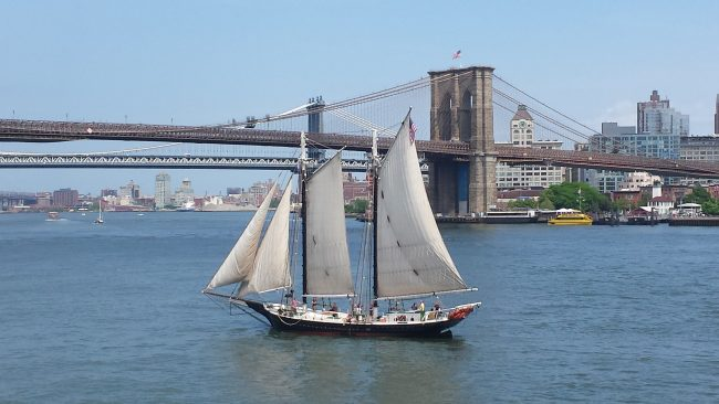 Brooklyn Bridge desde Southseaport