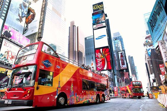 New York Bus Hop on Hop off ¿Cómo Funciona?