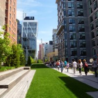 El High Line Park de Nueva York