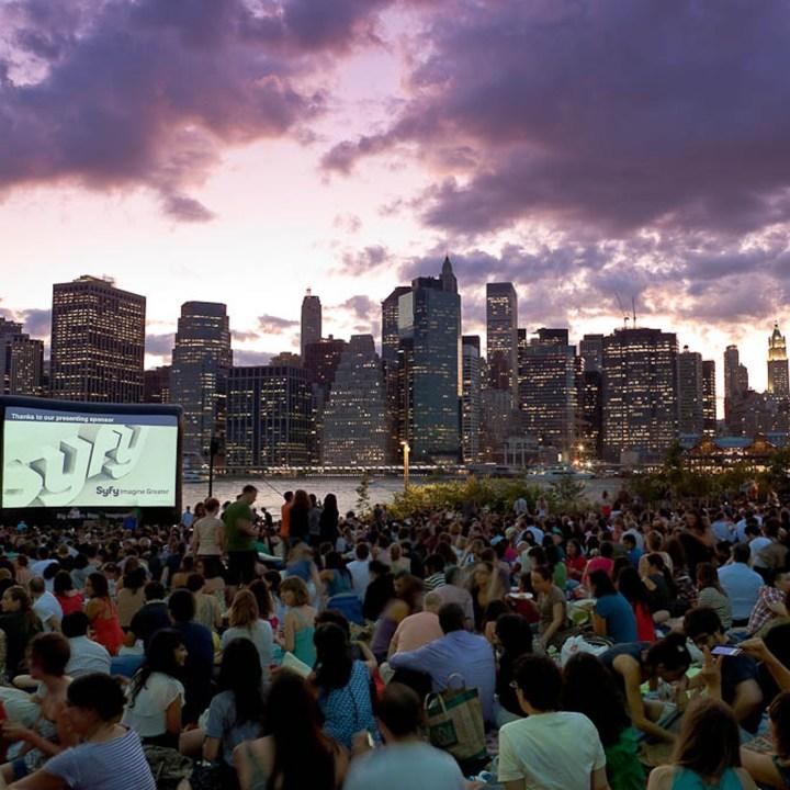 Películas gratis al aire libre durante el verano 2017 en Nueva York