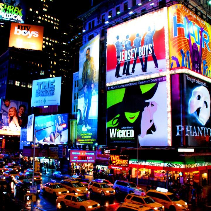Boletos para Broadway a mitad de precio