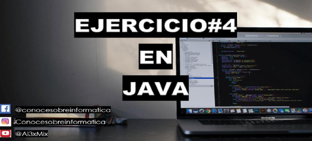 Ejercicio#4 en Java