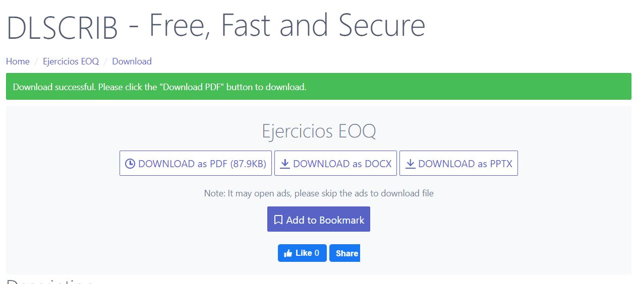 Cómo descargar archivos PDF de SCRIBD